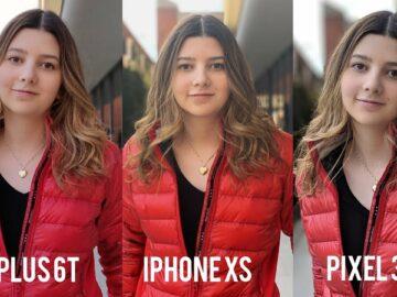 OnePlus 6T Camera Vs iPhone Xs & Pixel 3!